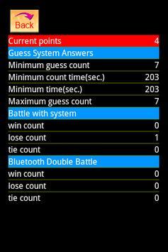 1A2B Brainstorming Game screenshot 1