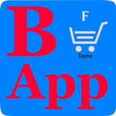 Мобильное приложение для заказа еды icon