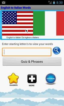 Learn Italian to English screenshot 6