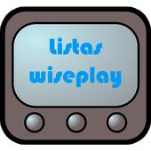 Listas para Wiseplay icon