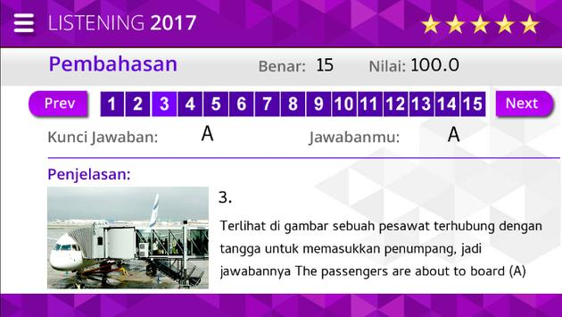 Listening Ujian Nasional SMK screenshot 6