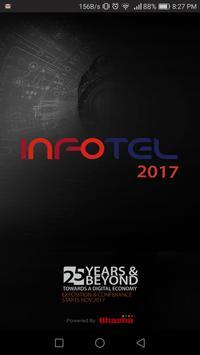 INFOTEL 2017 - ICT Exhibition poster