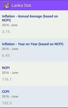 Lanka Stat screenshot 1