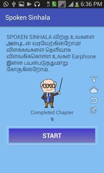 Spoken Sinhala poster