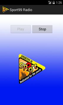 Sport99 Android Player screenshot 1