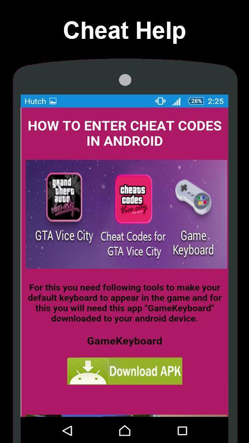 Vice city cheat code download apk | Gta Vice City Cheats