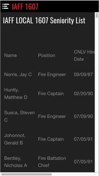IAFF 1607 screenshot 4