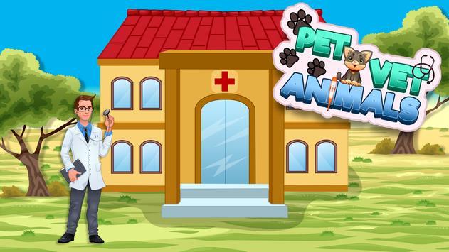 Crazy Pet Vet Animal Doctor Game - Free poster
