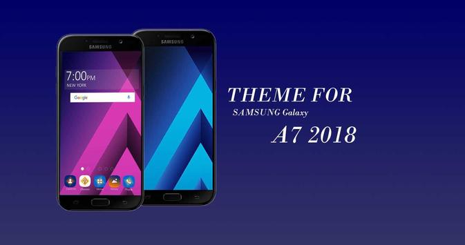 Theme for Samsung A7 2018 (Galaxy) poster