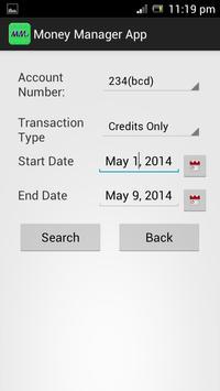 Money Manager screenshot 2
