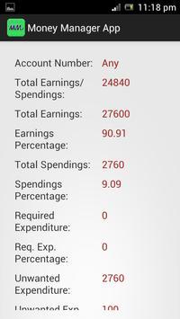 Money Manager screenshot 3
