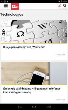 Alfa.lt apk screenshot