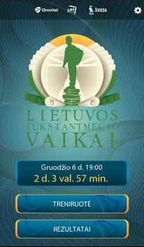 Lietuvos tūkstantmečio vaikai poster