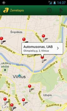 Auto.lt apk screenshot