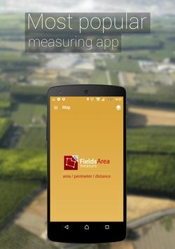 GPS Fields Area Measure poster