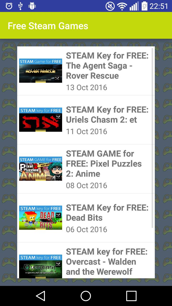 Free Steam Games: Best Games In The Universe! for Android