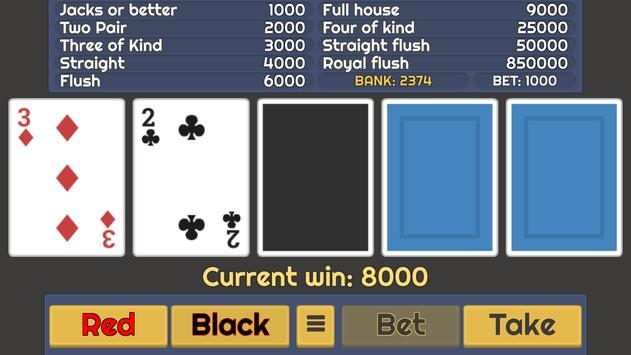 Video Poker screenshot 4