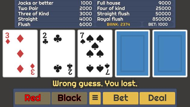 Video Poker screenshot 5