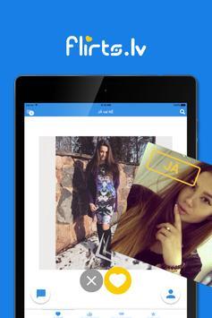 Flirts.lv - Latvian Dating App apk screenshot