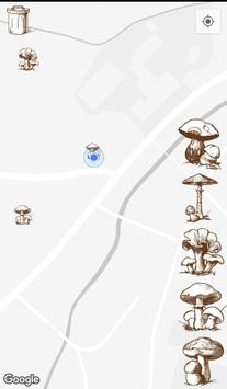 Mushroom places poster