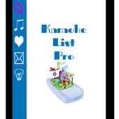 Karaoke List Pro icon