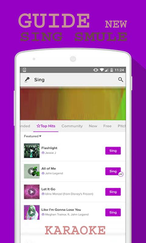 Guide Sing Smule Karaoke for Android - APK Download