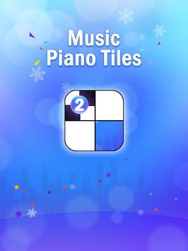 Piano challenges - tap tiles poster