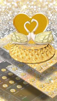 3D Luxury Lovely Couple Swan Theme screenshot 2