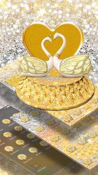 3D Luxury Lovely Couple Swan Theme screenshot 2