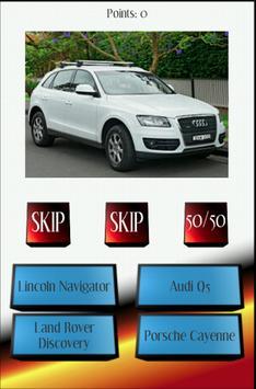 Car Quiz Luxury SUVs apk screenshot