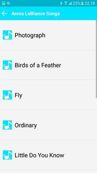 All Song Annie LeBlanc screenshot 3