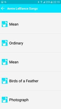 All Song Annie LeBlanc screenshot 1