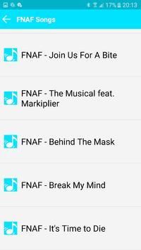 All Songs FNAF 123 screenshot 1