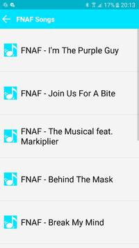 All Songs FNAF 123 screenshot 2