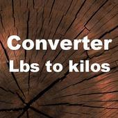 Lbs to Kilos Converter icon