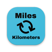 Miles Kilometers - Converter icon