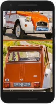 Car Wallpapers Citroen CV poster