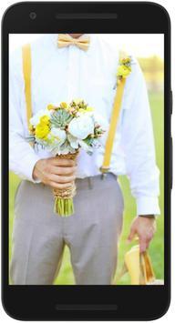 Yellow & Gray Weddings poster