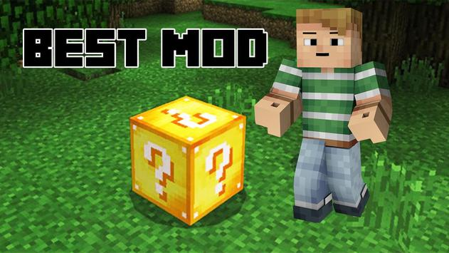 Mod Lucky block for Minecraft screenshot 1