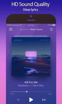 Music Player - Audio Player & Mp3 Player captura de pantalla 1