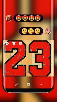 Lucky number Jordan 23 poster