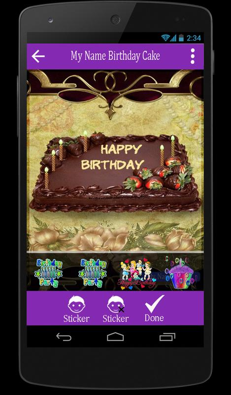 Write Name Photo Birthday Cake For Android Apk Download