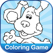 Coloring for Blues Clues Puppy icon