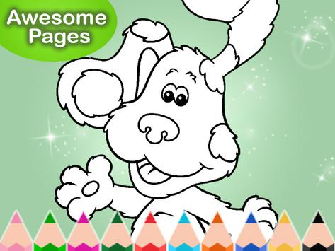 Coloring for Blues Clues Puppy screenshot 6