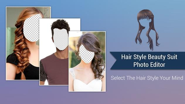 Hair Style Beauty Photo Editor poster