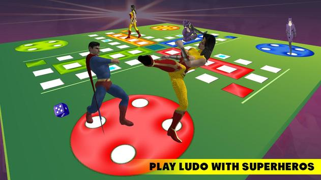 Ludo Dice Fun : Play Ludo With Superheros poster