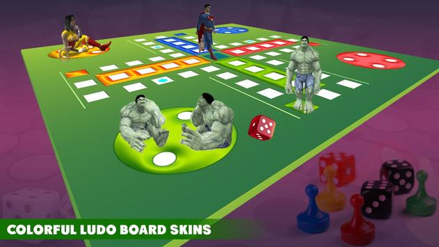 Ludo Dice Fun : Play Ludo With Superheros screenshot 13