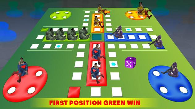 Ludo Dice Fun : Play Ludo With Superheros screenshot 1