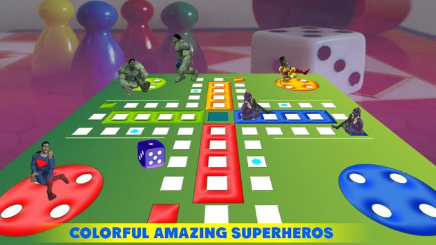Ludo Dice Fun : Play Ludo With Superheros screenshot 2