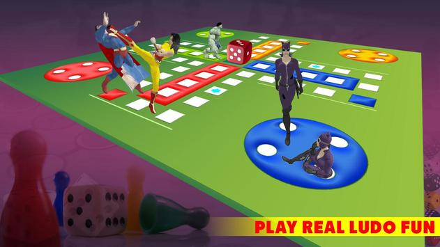 Ludo Dice Fun : Play Ludo With Superheros screenshot 4